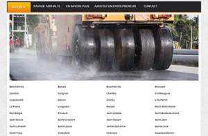 Asphalte Rive-Sud : répertoire des compagnies