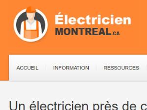 Électricien Montréal