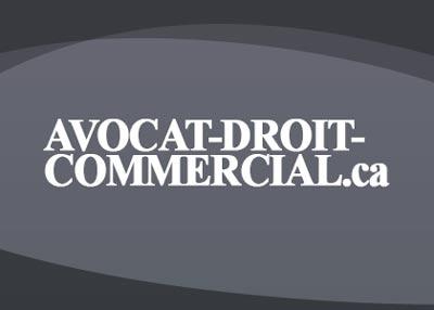 Avocat droit commercial